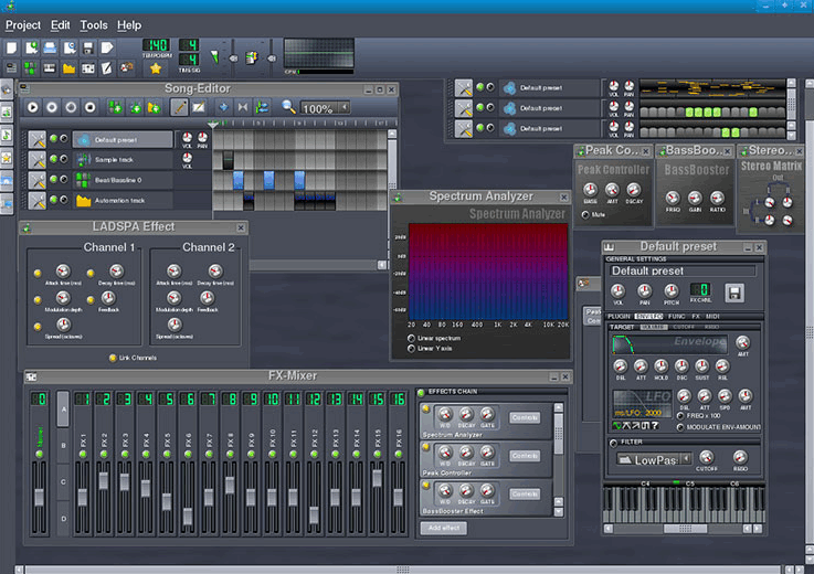 Скачать LMMS - Linux MultiMedia Studio