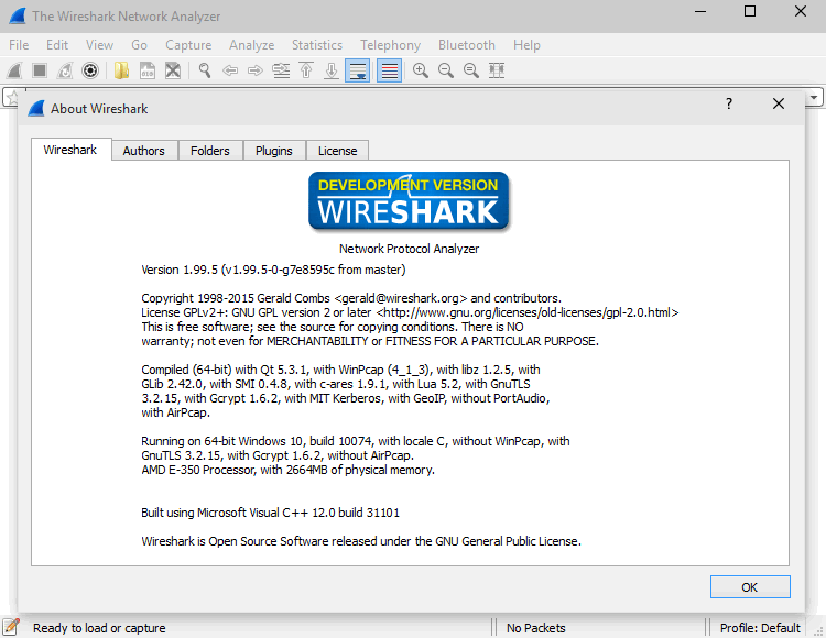 Программа Wireshark